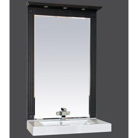 """Зеркало Misty """"Марсель 75"""", комбинированное венге-белое"""