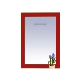 """Зеркало Misty """"Европа 50"""", красное, с подсветкой"""