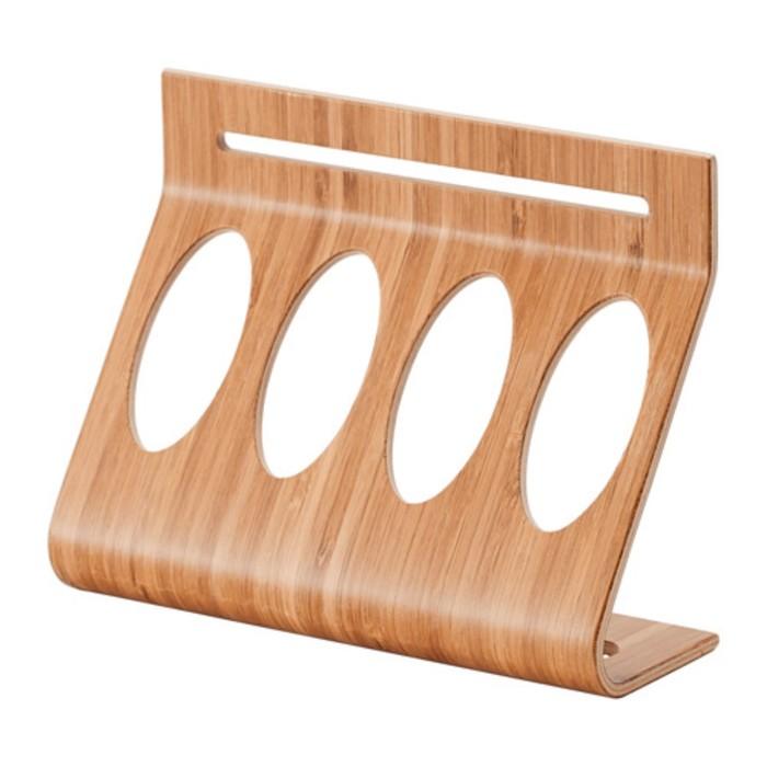 Подставка д/контейнеров, бамбук РИМФОРСА