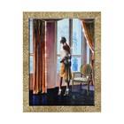 """Картина со стразами """"Парижанка"""" 70*90 см"""