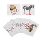 Обучающие карточки «Мини-40. Wild animals/Дикие животные»