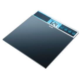 Весы напольные Beurer GS39, электронные, до 150 кг, чёрные