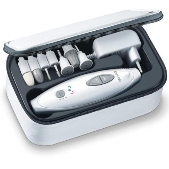 Аппарат для маникюра и педикюра Beurer MP41, 7 насадок, 2 скорости