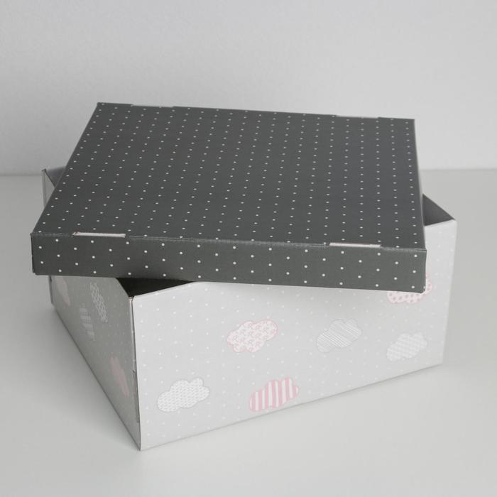 Складная коробка «Для воспоминаний», 31,2 х 25,6 х 16,1 см