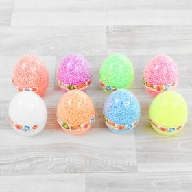 Шариковый пластилин 'Фиксики' с блёстками в яйце, 8 г, цвета МИКС Ош