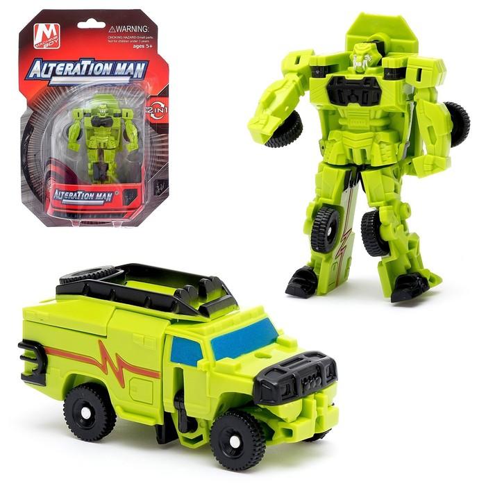 Робот-трансформер «Воин»
