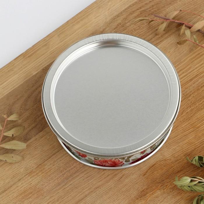Форма для выпечки разъёмная «Розарий», 13×4,7 см, цвет серебристый