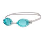 Очки для плавания Simpler, цвет голубой/белый