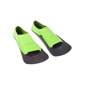 Ласты Fins Training II Rubber, размер 36-38, цвет зелёный/чёрный Ош