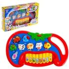 Музыкальная игрушка-ионика «Ферма», английская озвучка, работает от батареек