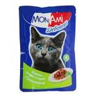 Влажный корм MonAmi для кошек, цыпленок, пауч, 85 г