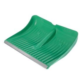 Ковш лопаты пластиковый, 500 х 400 мм, с оцинкованной планкой, 'Айсберг' Ош