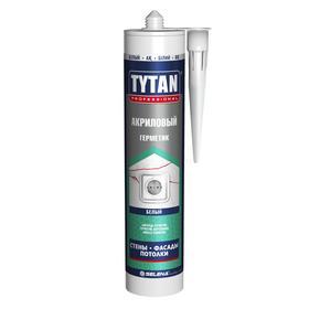 Герметик Tytan Professional (20003), акриловый, белый, 310мл