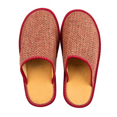 """Тапочки женские """"Алиса"""" закрытые, цвет красный, размер 36"""