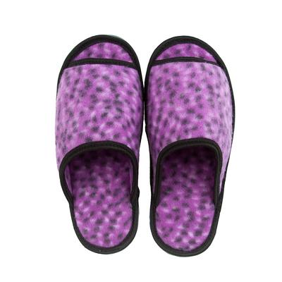 Тапочки домашние женские открытые, цвет фиолетовый, размер 40