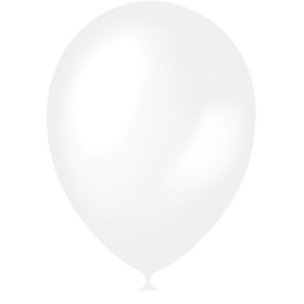 """Шар латексный 14"""", перламутр, набор 50 шт., цвет белый"""