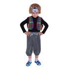 """Карнавальный костюм """"Ёжик в жилете"""", шапка, жилет, бриджи, р-р 28, рост 98-104 см"""