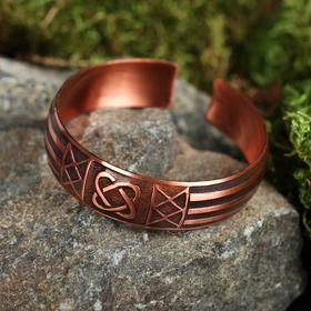 """Bracelet """"a Christmas Carol"""" medium, copper"""