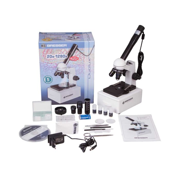 Микроскоп Bresser Duolux 20x-1280x