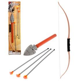 Набор индейца «Апач»: лук, присоски, нож