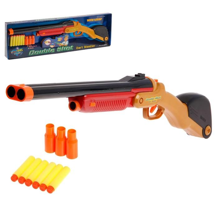 Ружьё «Двойной выстрел», стреляет мягкими пулями