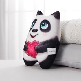Игрушка-антистресс «Панда с сердечком»