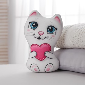 Игрушка антистресс «Кошечка с сердечком»