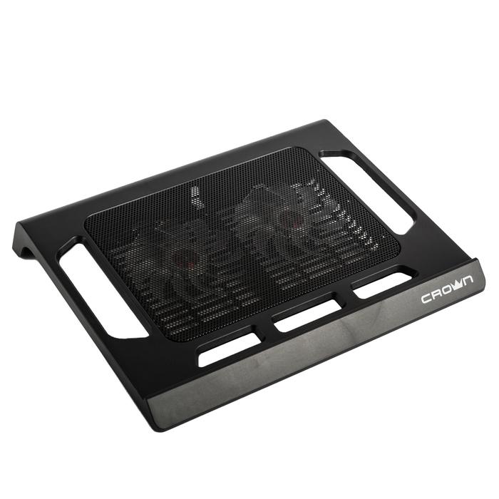 "Подставка для ноутбука CROWN CMLS-937, до 15.6"", черная"