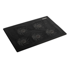 "Подставка для ноутбука CROWN CMLC-1105, до 17"", регулировка скорости вращения, черная"