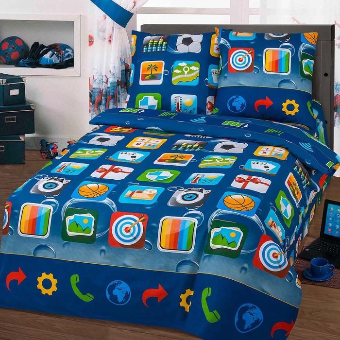Детское постельное бельё 1,5 сп. «Матрица» - фото 7242309