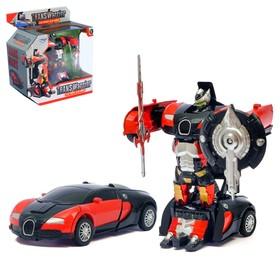 Робот «Автобот», трансформируется, с инерционым механизмом, цвета МИКС