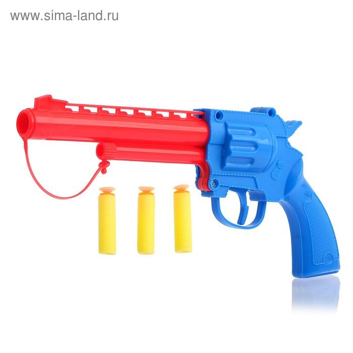 Пистолет «Револьвер», с мишенями, стреляет мягкими пулями