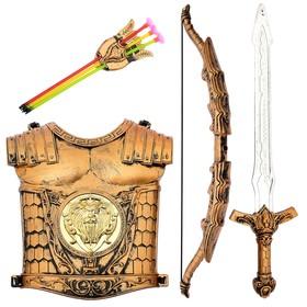 Набор рыцаря «Храбрый воин», 7 предметов