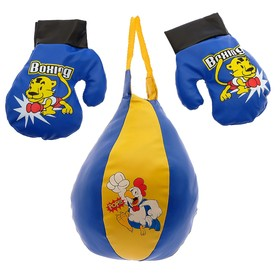 """Kids Boxing set """"Elephant and tiger"""""""