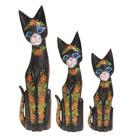 "Сувенир ""Кошки царя"" набор, дерево 30,40,50 см"