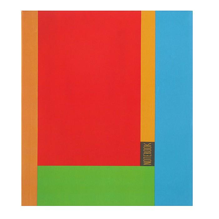"""Бизнес-блокнот А6+, 96 листов без линовки """"Яркая палитра"""" интегральная обложка, матовая ламинация"""