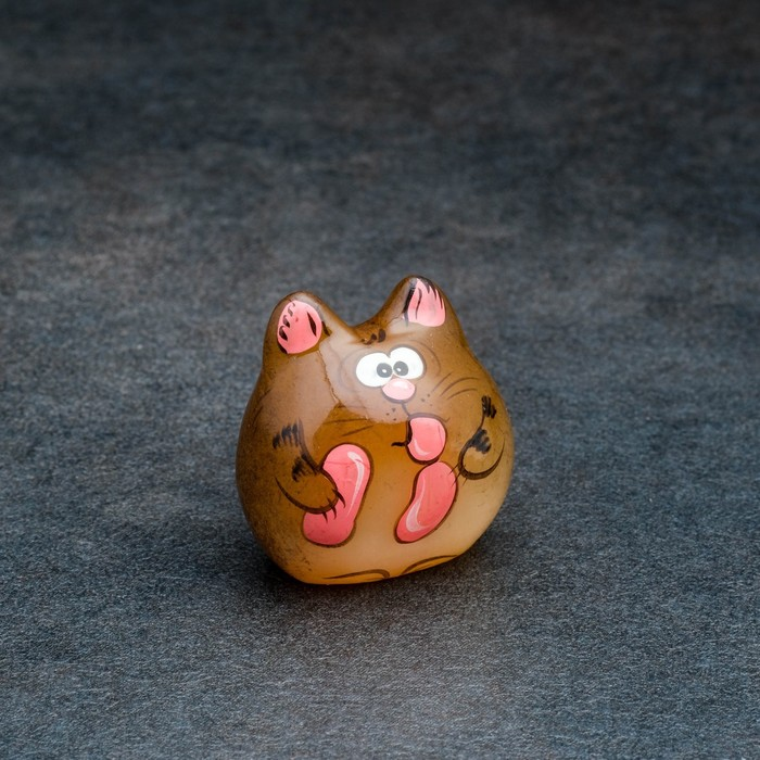 Сувенир «Котёнок Веня», 3,5×3 см, микс, селенит - быстрая доставка