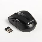 Мышь Canyon CNR-MSOW06B, беспроводная, оптическая, 1600 dpi, 6 кнопок, USB, чёрная