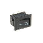 Выключатель клавишный REXANT RWB-101, 250 В, 3А (2с), ON-OFF, Micro, черный