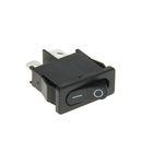 Выключатель клавишный REXANT RWB-103, 250 В, 6А (2с), ON-OFF, Mini, черный