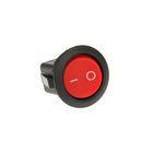 Выключатель клавишный REXANT RWB-213, круглый, 250 В, 6А (2с), ON-OFF, красный