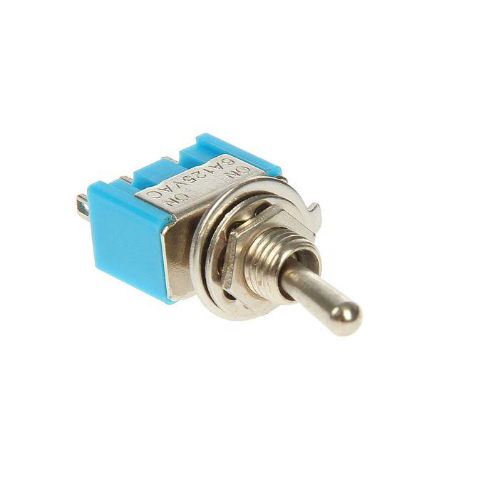Тумблер REXANT MTS-102, 250 В, 3А (3c), ON-ON, Micro, однополюсный