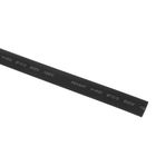 Термоусадочная трубка REXANT, 10.0/5.0 мм, 1 м, черная