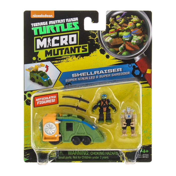 Игровой набор «Черепашки-ниндзя: Микро мутанты»