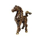 Скульптура «Лошадка «Кокетка» бронза 3х7х8,5 см