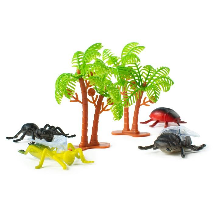 Набор животных «Насекомые», 12 фигурок с аксессуарами