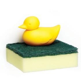 Держатель для губки Duck, жёлтый