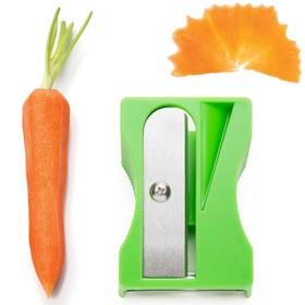 Инструмент для декоративной нарезки овощей Karoto, зелёный