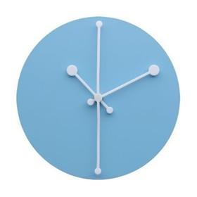 Часы настенные Dotty, голубые