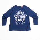 Джемпер для девочки, рост 104 см, цвет тёмно-синий CWK 61730 (160)